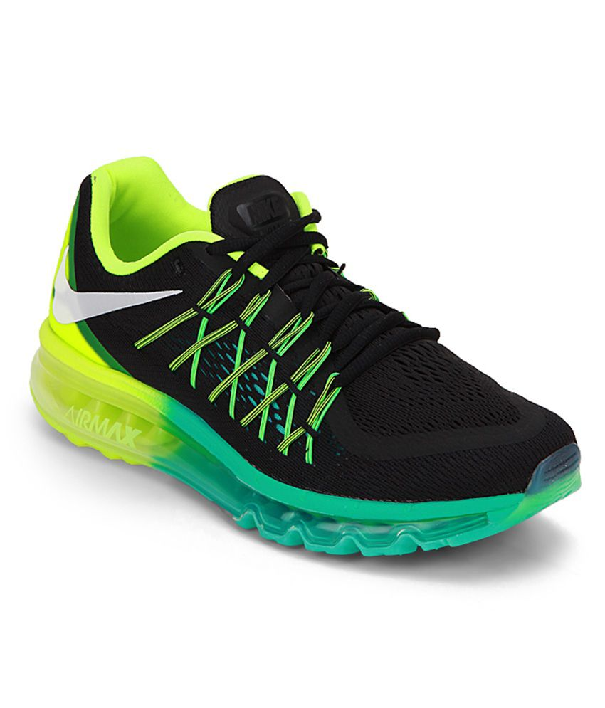 Nike Air Max 2015 Black Sport Shoes - Buy Nike Air Max 2015 Black Sport  Shoes Online at Best Prices in India on Snapdeal fc79ec757730