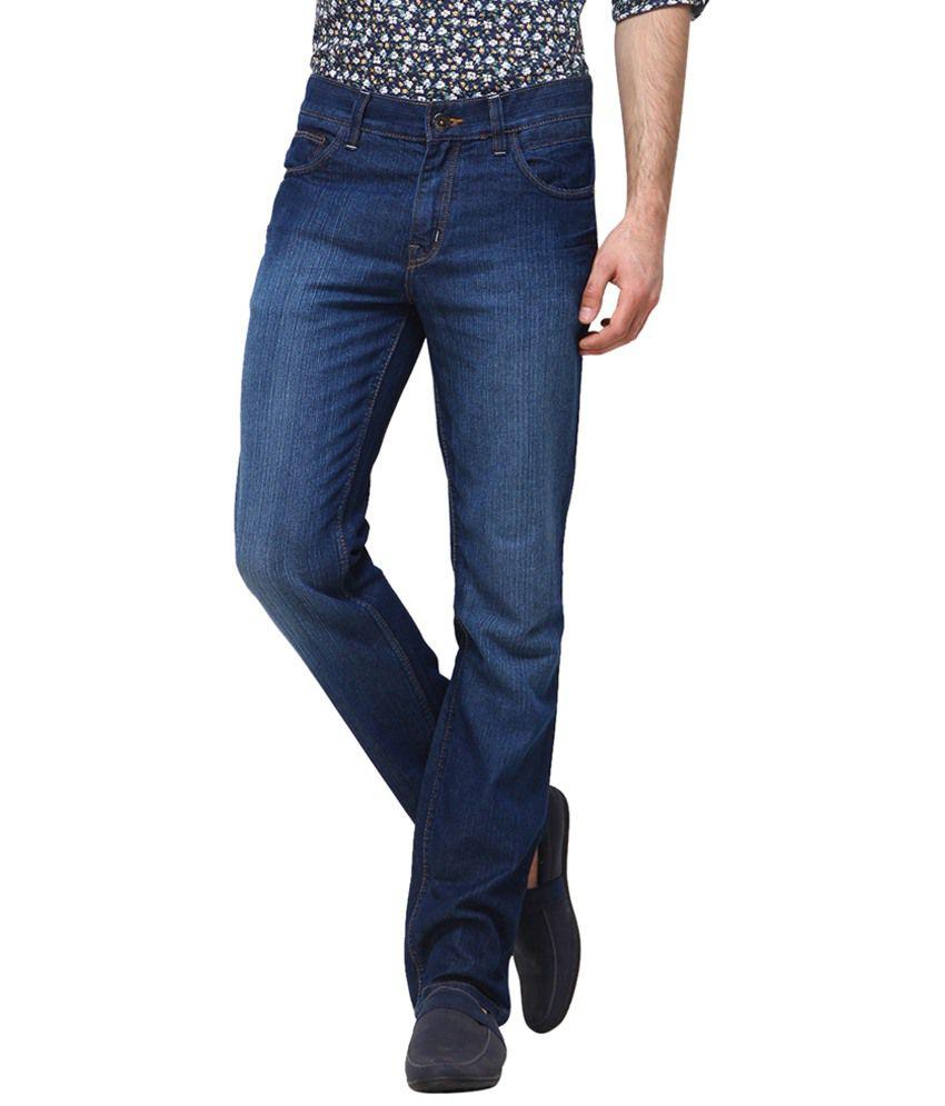 Yepme Dashing Blue Regular Fit Jeans