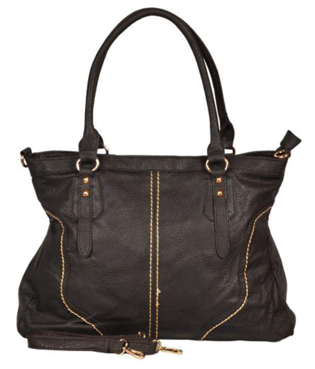 Hotberries HBCOS-1140 Black Satchel Bags