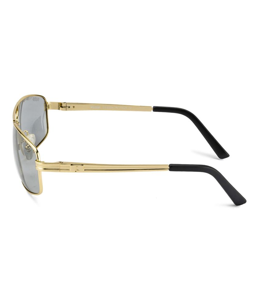 e0da13bd82 Pump Golden Metal Square Sunglasses - Buy Pump Golden Metal Square ...