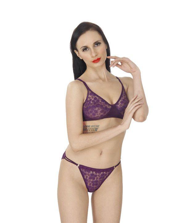 9a2ecb78ef2d6 Buy SK Dreams Multi Color Cotton Bra & Panty Sets Pack of 3 Online ...