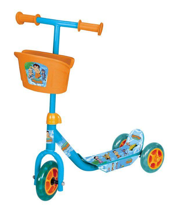 Toyhouse Chhota Bheem Lil' Skate Scooter