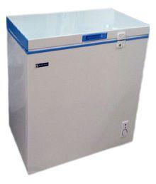 Blue Star 100 LTR Chest Freezer - CHF 100C/ CHFSD100D Deep Freezer White and Blue