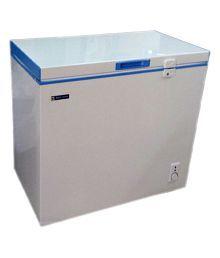 Blue Star 150LTR Chest Freezer - CHF150C/CHFSD150D Deep Freezer White and Blue