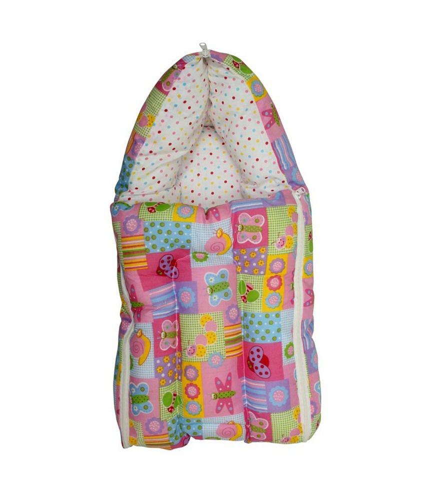 Glitz Baby Pink Cotton Sleeping Bag