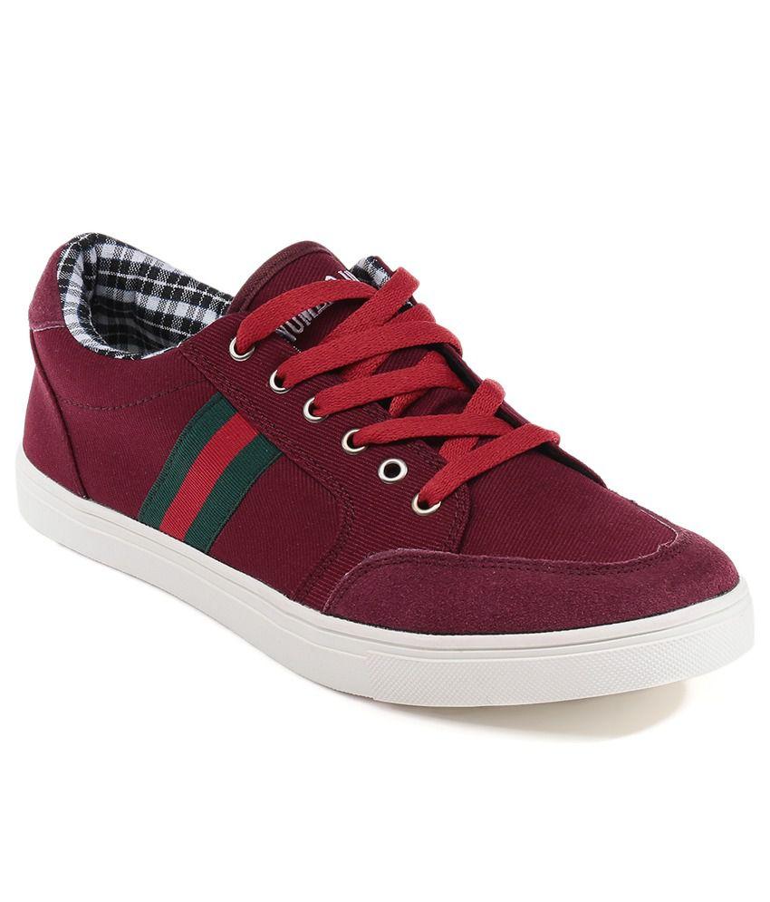 numero uno maroon casual shoes buy numero uno maroon
