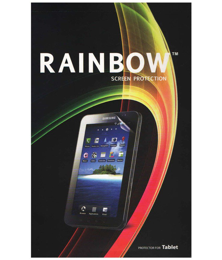 Rainbow Screen Protector For Micromax A190 Canvas Hd Plus