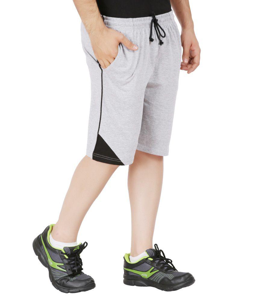 2df061985 Checkersbay S-cc Mens Gray Sports Shorts - Buy Checkersbay S-cc Mens ...