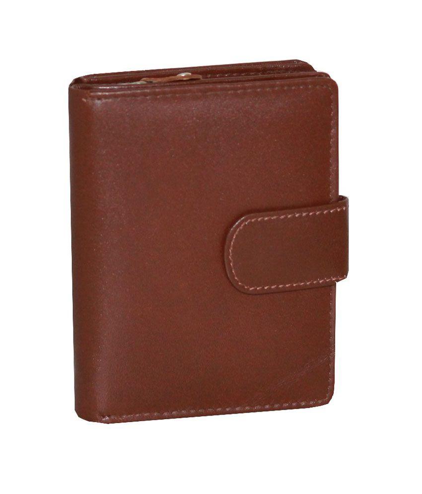 Kalonji Tan formal Leather Wallet for Women