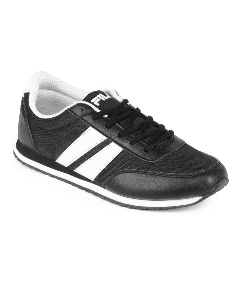lowest price bd675 a5659 Fila Black Jog Italia Running Shoes
