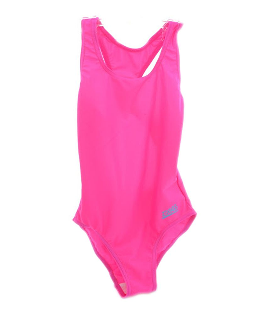 Zoggs Tots Bellambie Actionback Girls Swimwear Pink24 96400924/ Swimming Costume