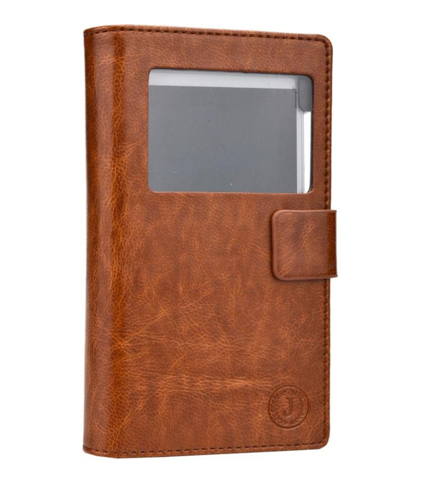 Jo Jo Cover Corbett Series Leather Flip Case For Samsung I9190 Galaxy S4 mini Dark Brown