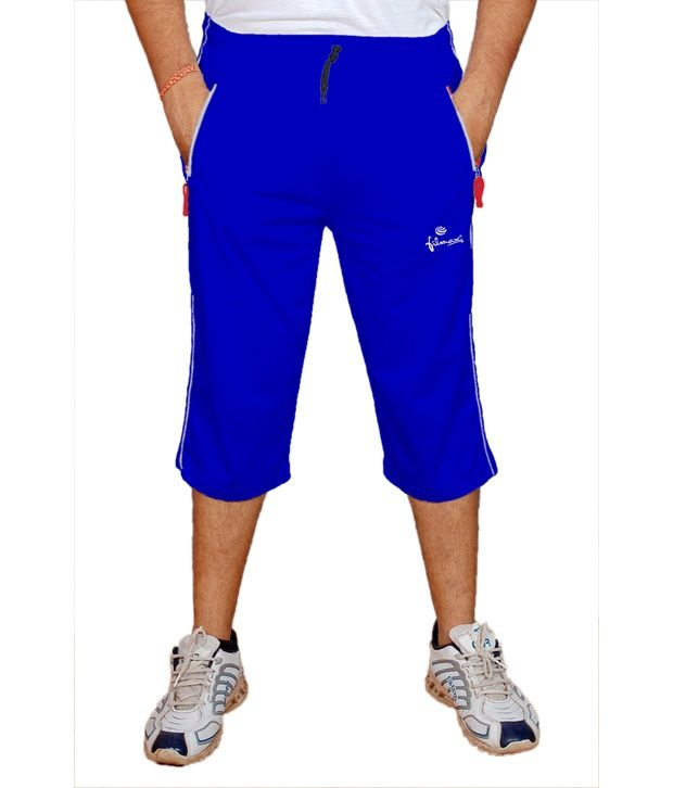 Filmax Royal Blue Cotton Blend 3/4 Lower