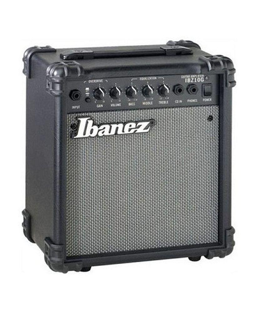 Ibanez Ibz10g 10w Guitar Combo Amplifier Buy Mini Audio