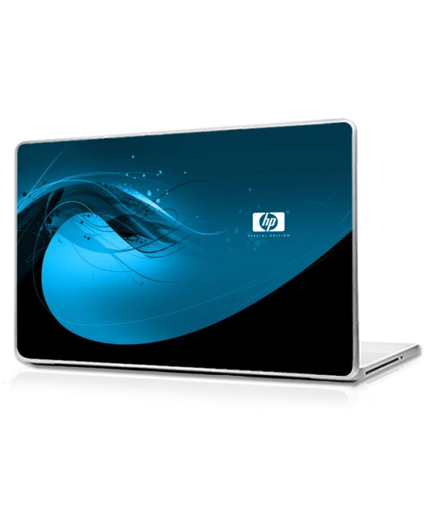 Automers Laptop Skin Of Hp Blue Waves 14 Inches To 14 2 Inches