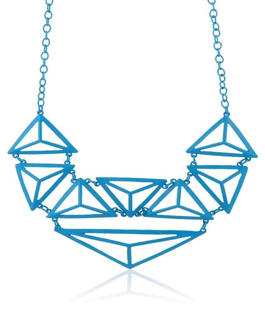 Krafftwork Blue Necklace