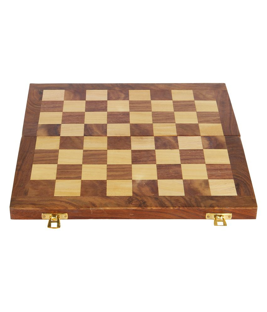 Little Knick Knacks Wooden Chess Board for Boys