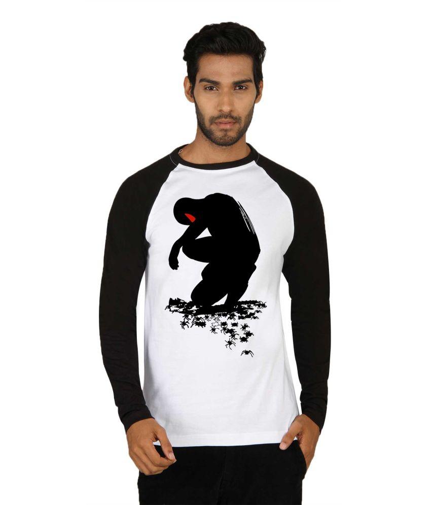 Sayitloud Cotton Round Neck Printed Full T Shirt