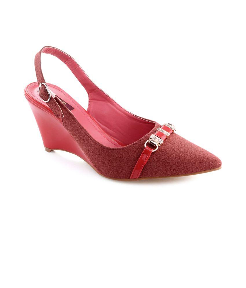 Shuz TouchRed Women Heeled Slip-on Pump Shoes