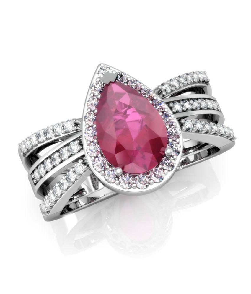 Vachya 14kt Gold Traditional Round Diamond Impressive Ring
