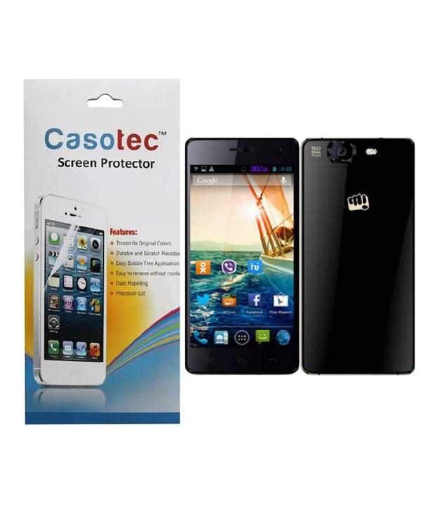 Micromax Canvas knight Clear Screen Guard by Casotec