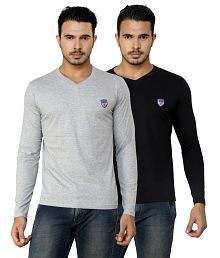 679a578ff281 V-Neck T-Shirt  Buy V-Neck T-Shirt for Men Online at Low Prices in ...
