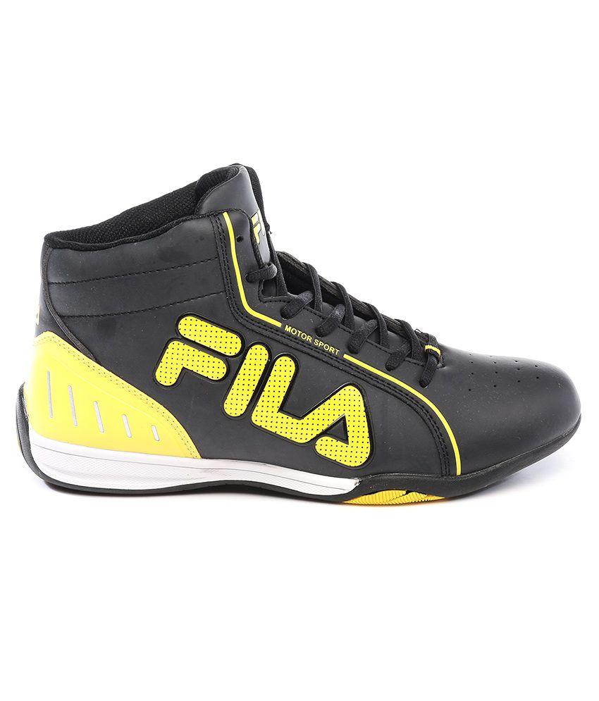 dd7358064128 Fila Isonzo Black Casual Shoes - Buy Fila Isonzo Black Casual Shoes ...