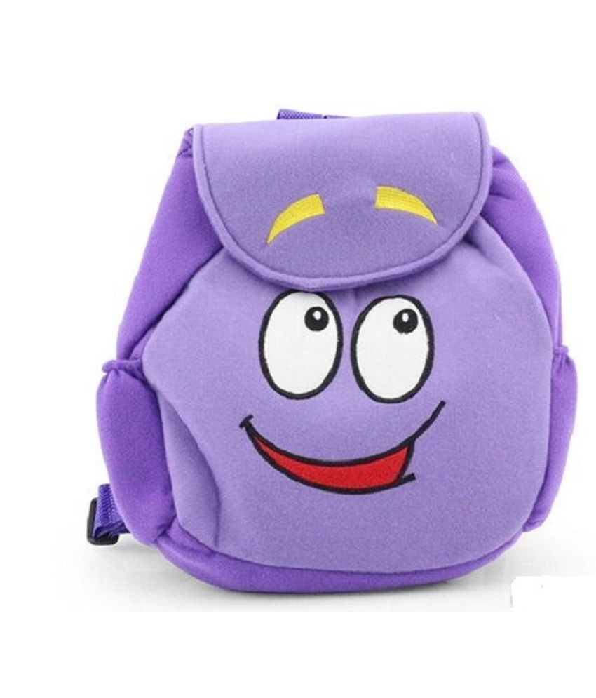 Kuhu Creations Purple Dora School Bag For Girls - Buy Kuhu Creations Purple  Dora School Bag For Girls Online at Low Price - Snapdeal 17541c1761ff9
