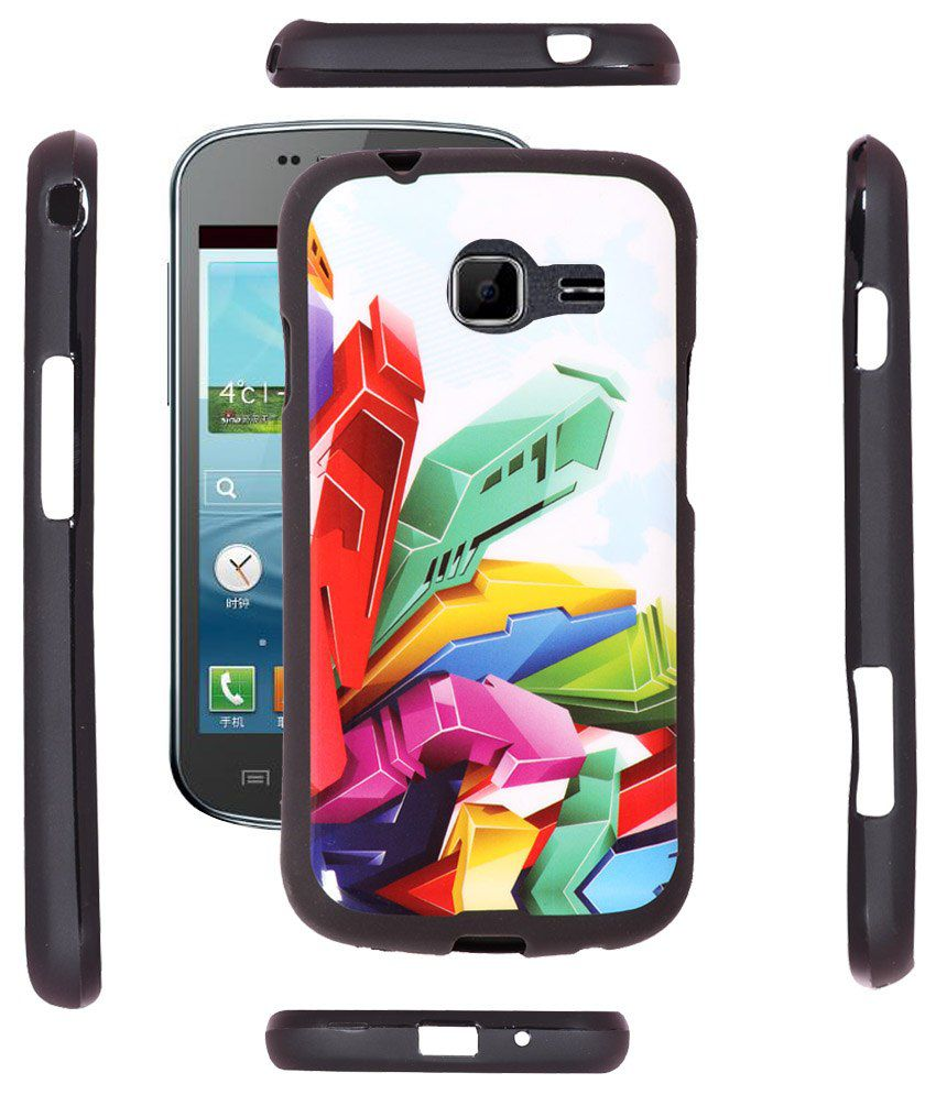 Fuson 2D Back Cover Case For Samsung Galaxy Star Pro ...