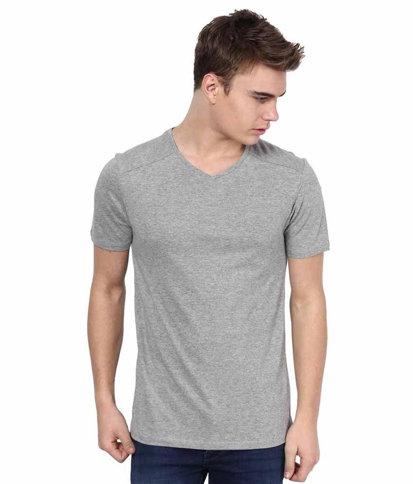 Tshirt company gray cotton v neck t shirt buy tshirt for Online tee shirt companies