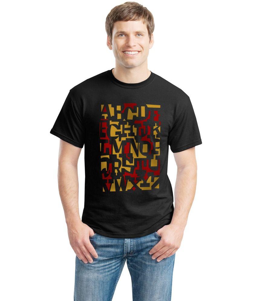Inkvink Clothing Black Cotton T Shirt