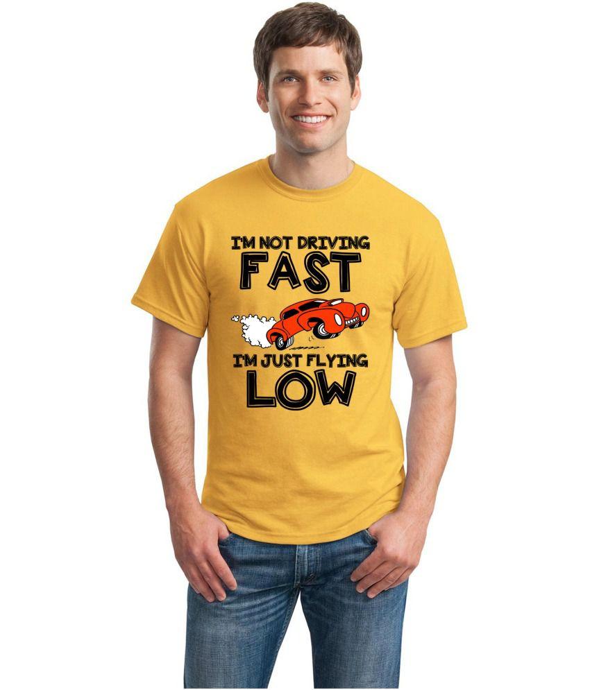 Inkvink Clothing Yellow Cotton T Shirt