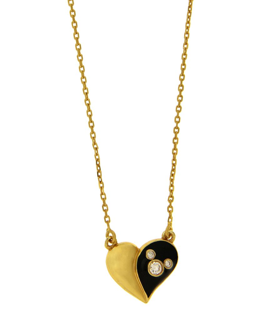 Disney Micron Gold Plated Mickey Necklace