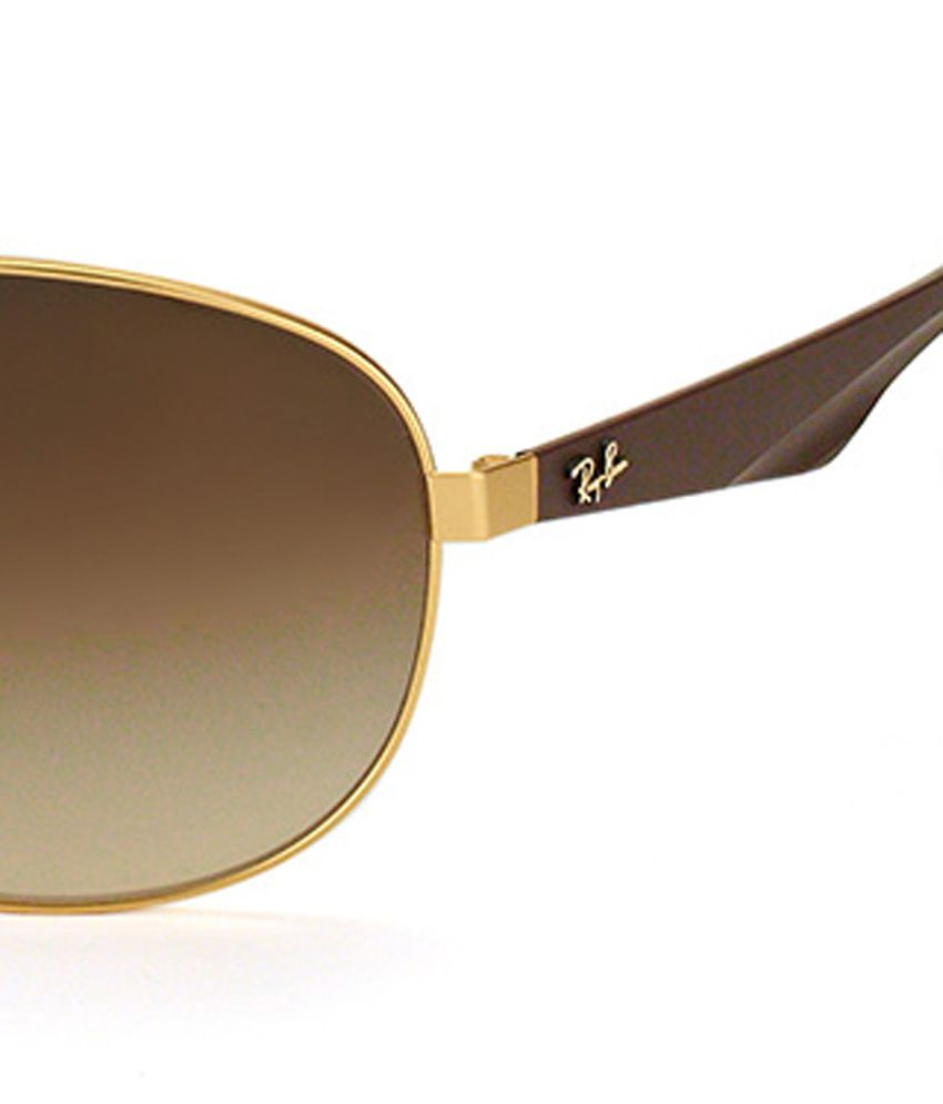 4fd0ec93f14 Rayban RB 3526 112 13 Predator Golden Brown Sunglasses - Buy Rayban ...