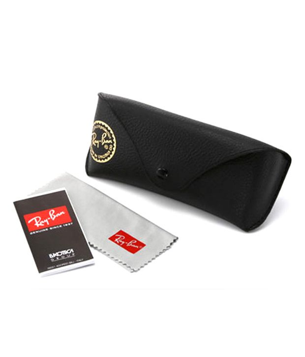 45002afc2a3 Rayban RB3527 006 71 Black Ractangular Sunglasses - Buy Rayban ...