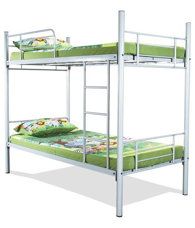 Furniturekraft Hodor Bunk Bed In Silver Buy Furniturekraft Hodor