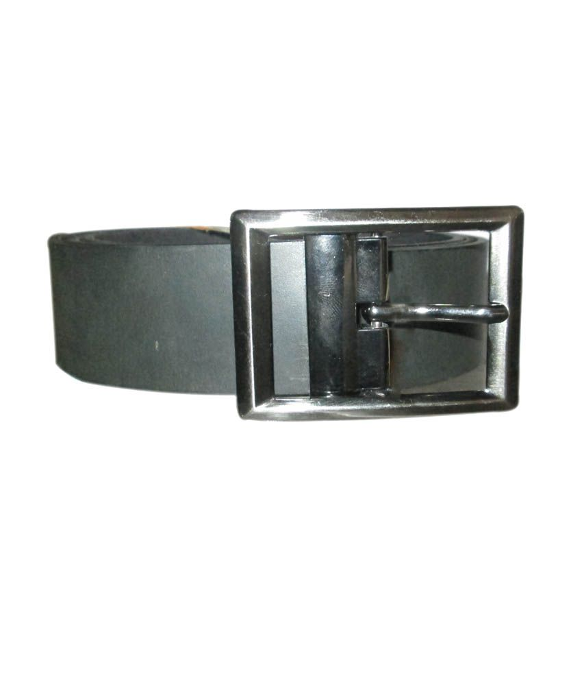 High Heels Black Leather Formal Belt