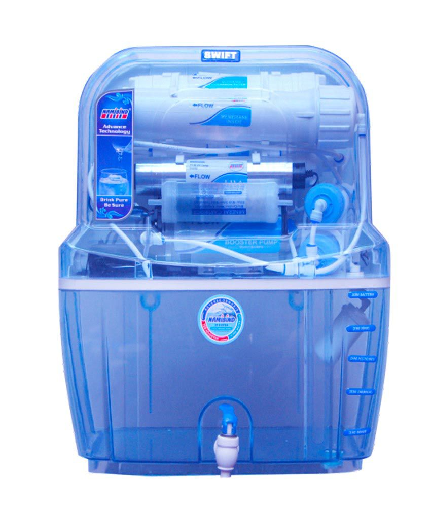 Namibind Swift Crystal 15 Litres RO Water Purifier