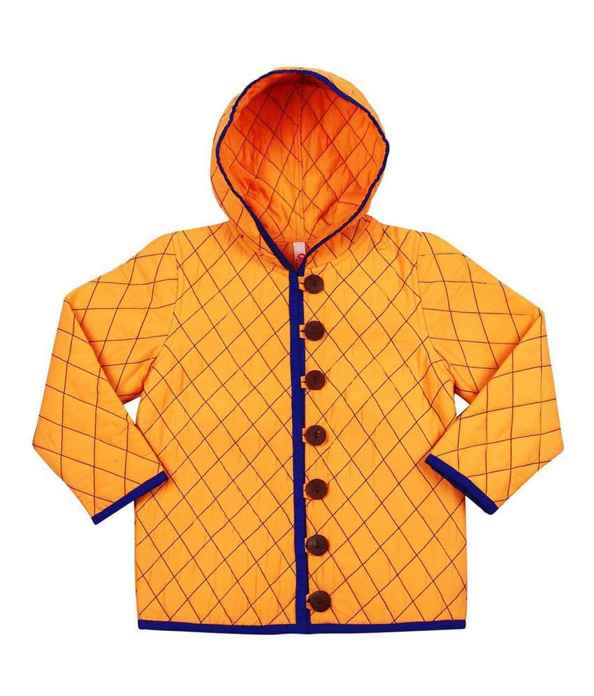Oye Yellow Cotton Jacket