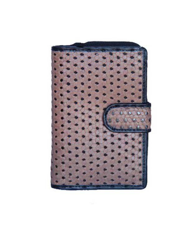 Matrix Leather Ladies Wallet