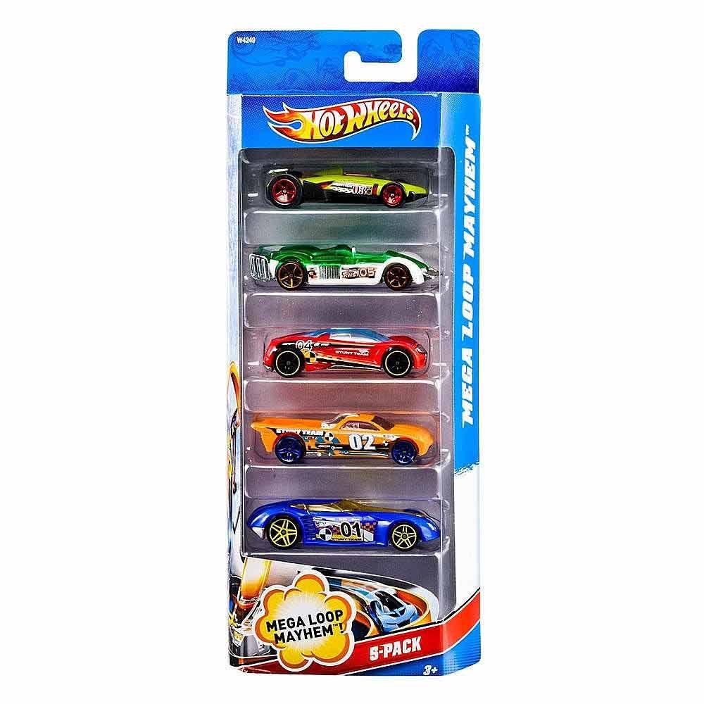 Hot Wheels 5 Car Gift Pack - Buy Hot Wheels 5 Car Gift Pack Online ...