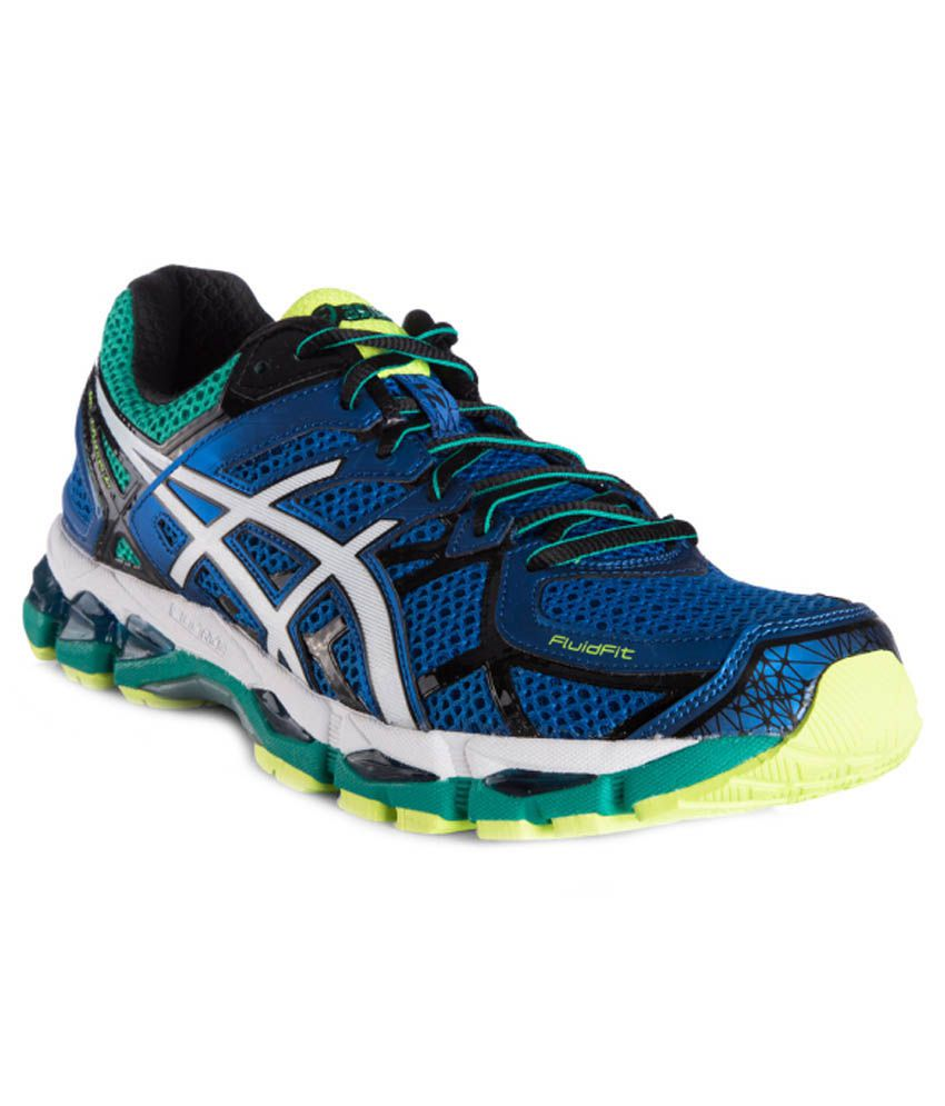 yellow blue mens asics gel kayano 21 shoes. Black Bedroom Furniture Sets. Home Design Ideas