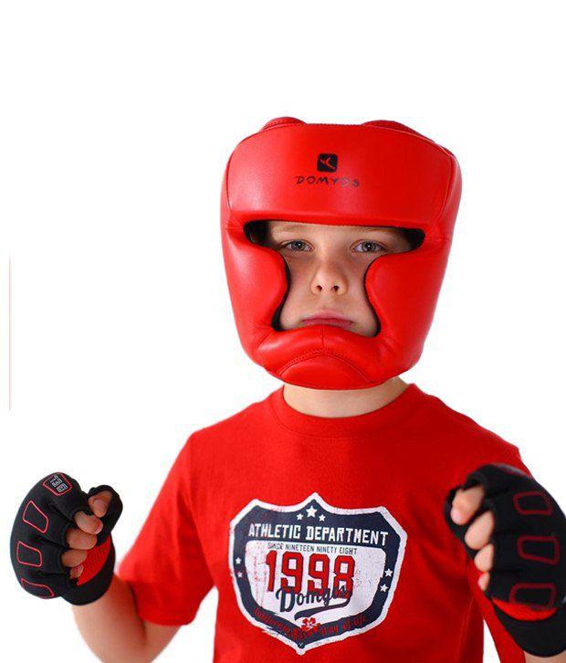 Domyos Red Junior Helmet