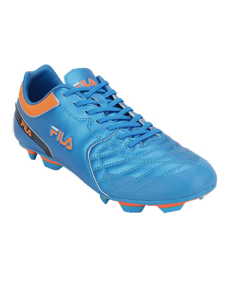 Fila Blue Synthetic Leather Sport Shoe