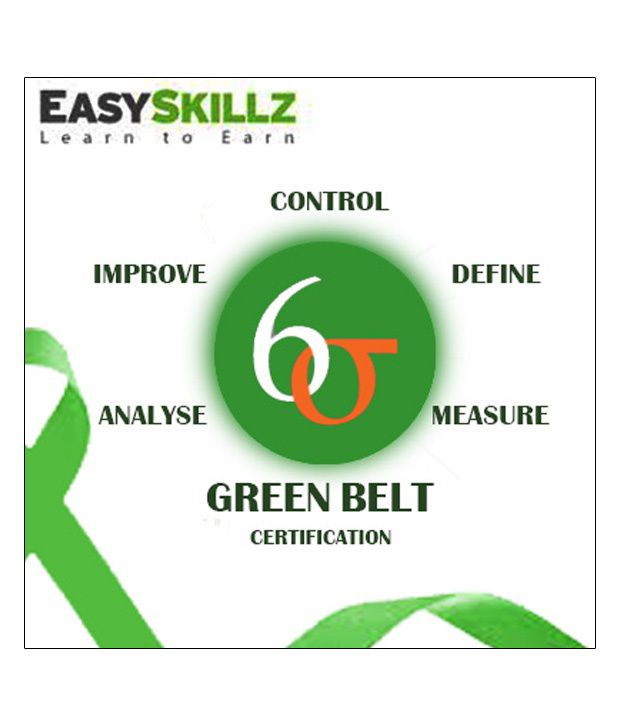 Six Sigma Green Belt Online Study Material: Buy Six Sigma Green Belt ...