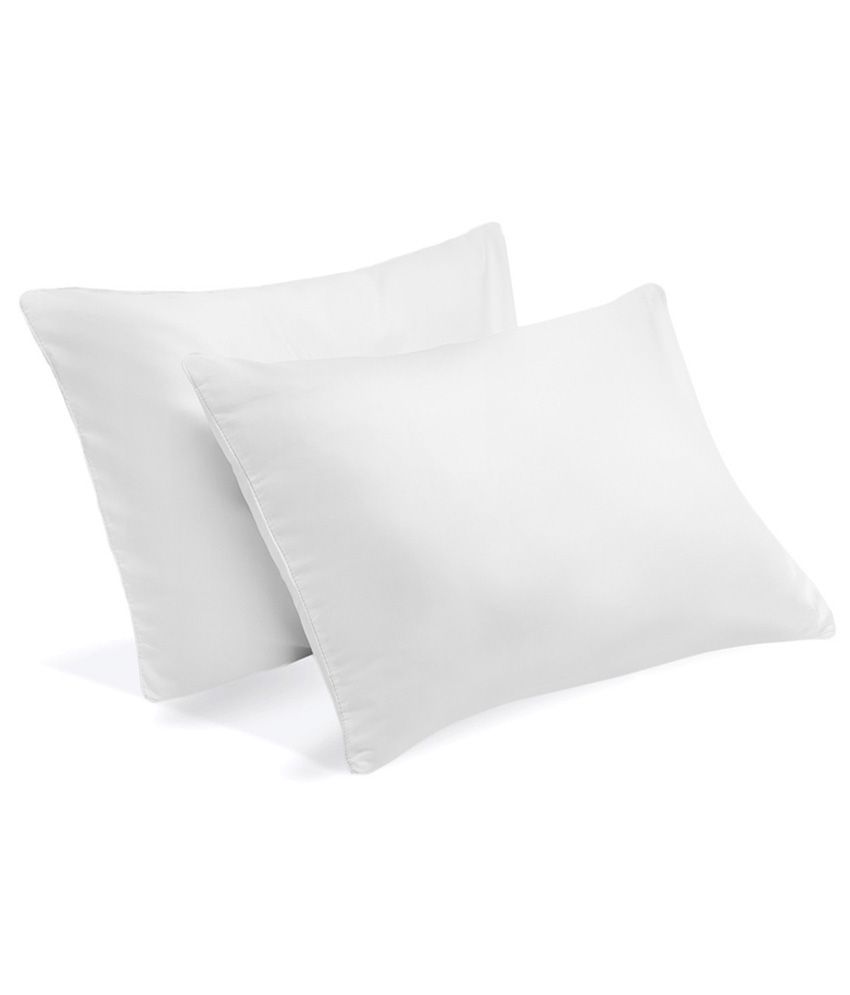 Jdx White Polyester Plain Chair Cushion Cover - 12 X 12 Inches