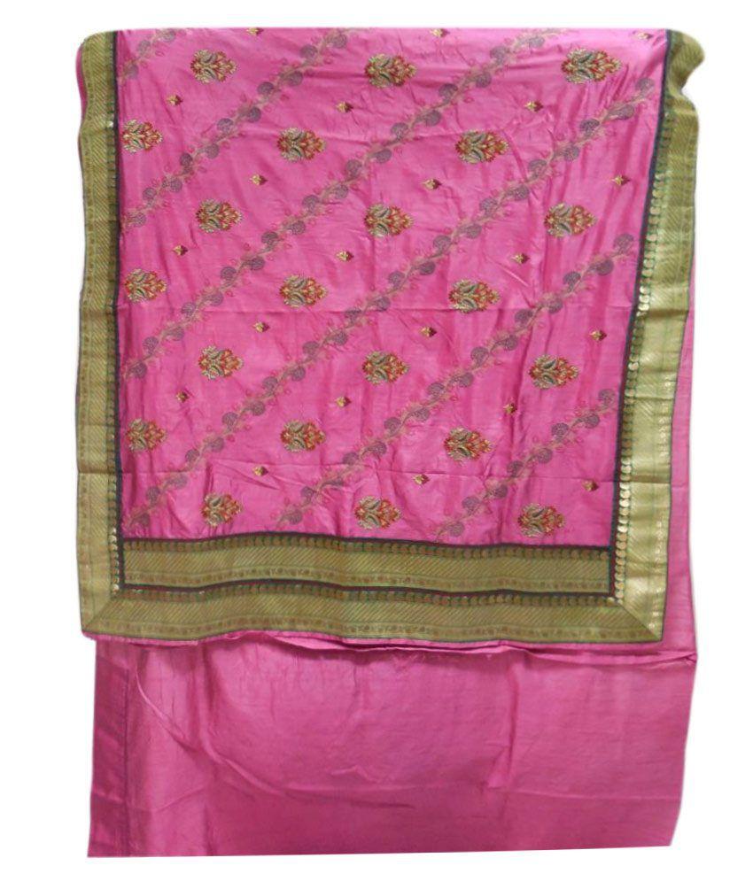 Ravi Keshri Multicoloured Art Silk Saree
