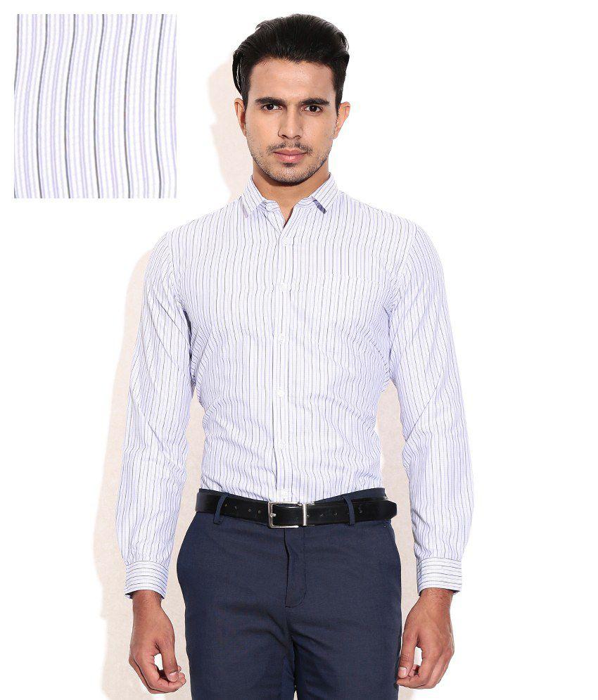 Excalibur purple slim fit formal shirt buy excalibur for Trim fit tuxedo shirt