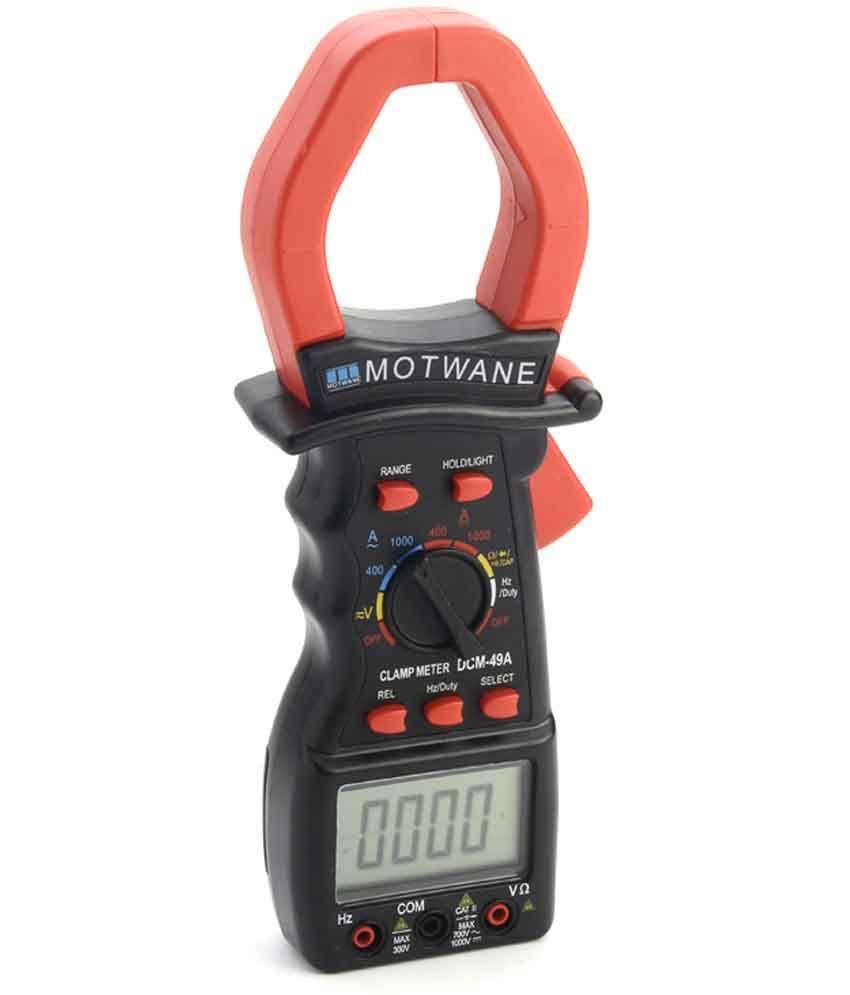 Fie Digital Clamp Meter : Motwane digital clamp meter dcm a buy