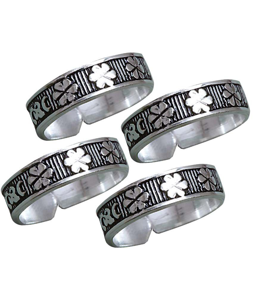 Aman Style Diva Silver Toe-ring